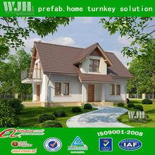 prefabricated luxury wooden villa