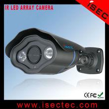 "1/3"" Sony 800tvl Unique Design CCTV Camera 2 pcs Array led"