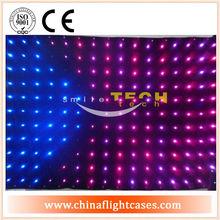 rgb led/fiber optic light star stage curtain,electric led fairy lights