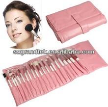 pink cute blusher brush , powder