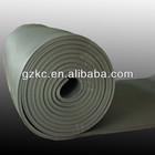 Black nutrile insulation material for HVAC system