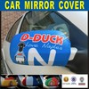 hot sale custom advertising auto review mirror cover