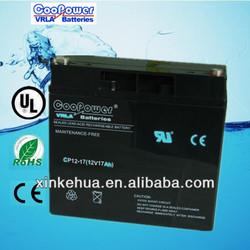 12Volt Sealed lead acid battery /12V Battery/12V17AH