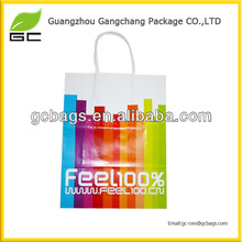 fashion style material art paper bag printing