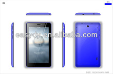 "7"" touchpad tablet pc with dual sim phone call"
