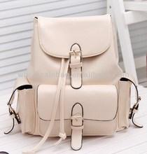 Fashion China Women's Girls Ladies Leather Backpack Bag Manufacturer