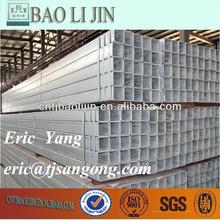 q235b pre-galvanized square pipe properties