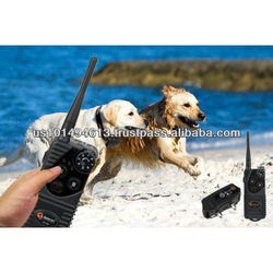 Abco Tech 600yd Range Remote Control Waterproof Dog Training Shock Collar with Vibration + Beep + 7 Levels of Shock