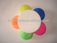 flower shaped Fluorescent pens