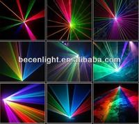 2W multi color animation writing laser light 2000mW ILDA laser stage lighting