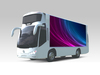 Asram investment products vehicle/trailer outdoor 2 side/3 side AD LED TV mobile truck led display screen