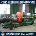qingdao huachuan reductor endurecido de residuos de neumáticos y caucho trituradora de molino