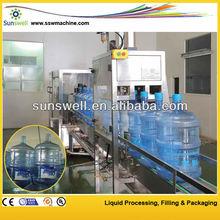 5L 10L bottle rinser/filler/capper tribloc filling machine