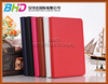 New Design Litchi grain leather wallet case for apple ipad mini