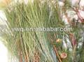 follaje decorativo de navidad para la decoración de conos de pino natural