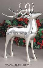 Esteemed silver rein deer