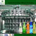Gaseosas agua/bebida de la máquina de embotellado/línea/planta/250ml/330ml/500ml/750ml/1000ml/1500ml