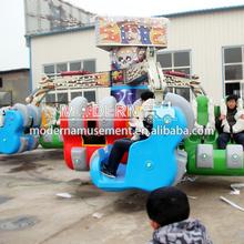 Modern Amusement Park Thrill Rides Adult Entertainment