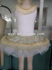 2015- royal gold romatic tutu - beautiful lace dress -love story perofrmance evening skirt