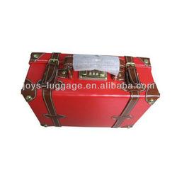 JW-141501- red vintage suitcase PU