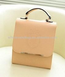 Wholesale Leather Briefcase Backpack Bag Knapsack Rucksack School Bag For Ladies Girls Women
