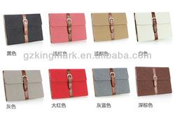 Luxury leather case unique smart cover for ipad mini for ipad 2 3 4