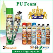high quality sponge foam glue ,pu foam spray