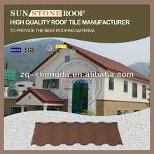Color Africa Design Oriental Red Roof Tile