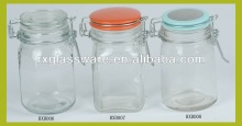 Exquisite Glass Canister Set With Clip Lid