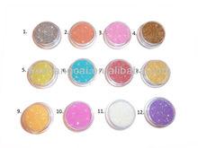 "variety colour PET Nail Art gel nails dust powder 1/128"""
