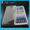 S line plain mobile phone cases for samsung P7030