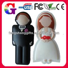 cartoon character usb flash drive bride usb flash drive
