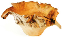 TEAK WOOD FRUIT BOWL TRBF08