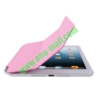 Brand New 3-folding Leather Case Cover for iPad Mini with Holder
