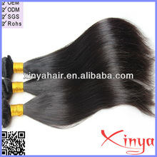 100% Top Quality 5a Soft Straight brazilian hair extensions uk