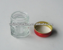 17ml small glass jars with lid