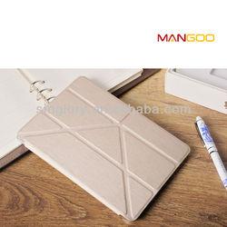 PU leather cover for ipad mini 2