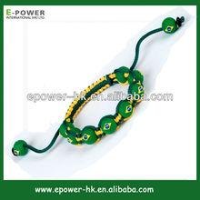 mala beads wholesale charm bracelet fashion fabric 2014