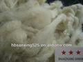 Hot! Chinês/merino lavada lã de ovelha com o psiquiatra- resistente/superwash tratamento,, 28- 32 mic& 55- 70mm, cor branco cru