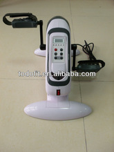 Mini Cycle Pedal Exerciser With Digital Display for Arms Legs