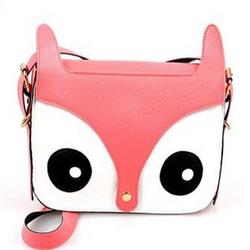 Fashion Sling Bag Owl Long Chain Bag Messenger Bag For Ladies Woman Girls