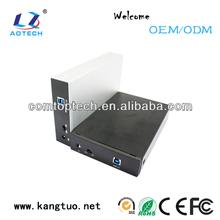 3.5 inch sata to usb3.0 wifi portable lan hdd box/wifi hard disk box