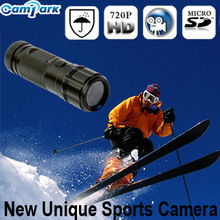 HD 720P outdoor waterproof Sport skiing goggle Camera