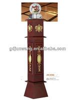 Decorative square wood banister railings designs/Large column JW-K046.6