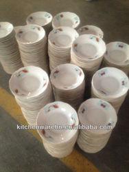 Haonai new ceramic products,8 inch ceramic salad plate