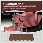 Stone Coated Steel Bamboo Roofing Material Shingles Tile