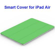 3-folding Polyurethane Smart Cover for iPad Air Case