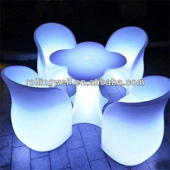 beauty light bar table/led bar counter top