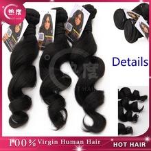Top quality 5A Eurasian virgin ocean wave hair weaves aaaaa