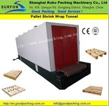 Heat Shrink Tunnel Machine Heat Treated Pallets